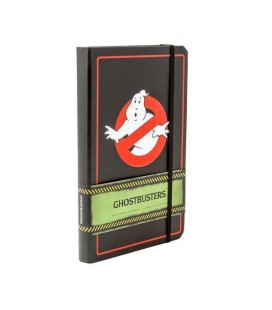 Ghostbusters - Hardcover ruled journal with pocket - Notebook formato A5 192 pagine
