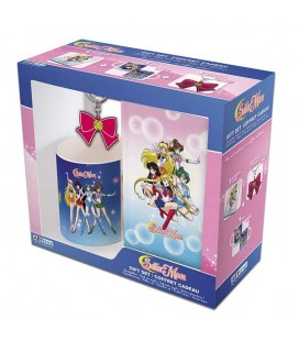 SAILOR MOON - GIFT BOX - KEYRING - A6 NOTEBOOK - MUG 320 ML