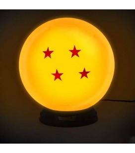 Dragon Ball - Lampada - Abystyle - Usb - Intensità regolabile - Sfera del drago 4 stelle - Diametro 14 Cm