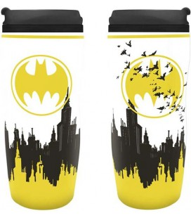 ABYstyle - DC Comics - Batman - Travel Mug - Tazza da Viaggio- 18 Cm - 355 Ml - Pvc