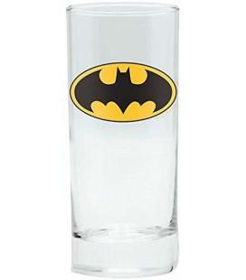 ABYstyle - DC Comics - Bicchiere - Glass - 290 ml - Batman Logo - Vetro - Ufficiale