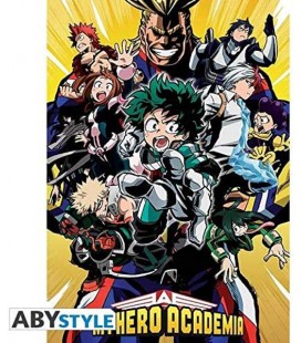 My Hero Academia - Poster - Wallpaper - Abystyle - Ufficiale - Gruppo - 91,5 x 61 cm