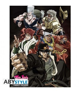 Jojo's Bizarre Adventure - Jojo - Poster - Wallpaper - Abystyle - Ufficiale - Stardust Crusader - 52 x 38 cm