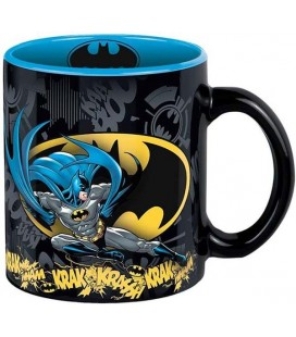 Batman - Abystyle - Tazza - Mug - Ceramica - Retro style - 320 Ml