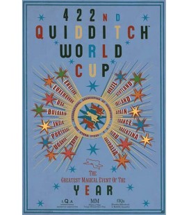 Harry Potter - Poster - Wallpaper - Abystyle - Ufficiale - Quidditch World Cup - 91,5 x 61 cm