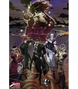 Jojo's Bizarre Adventure - Jojo - Poster - Wallpaper - Abystyle - Ufficiale group - 91,5 x 61 cm