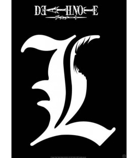 Death Note - L - Kira Shadow - Poster - Wallpaper - Abystyle - Ufficiale - 52 x 38 cm - carta laminata 170 gr
