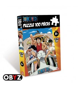 One Piece - Going Merry - Vogue - Obyz - Puzzle - Jigsaw - 100 pcs - 28 x 40 cm