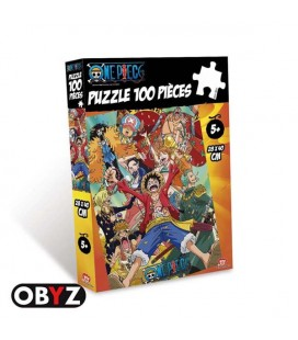 One Piece - New World - Nuovo Mondo - Obyz - Puzzle - Jigsaw - 100 pcs - 28 x 40 cm