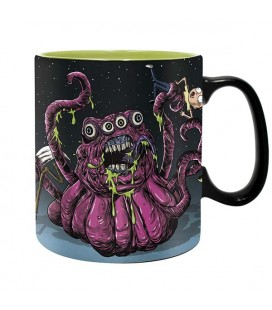 RICK AND MORTY - MUG/TAZZA 460 ML - MONSTERS