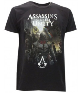 "Maglia Assassin's Creed Unity ""Arno in the streets of Paris"" - Ubisoft by Bioworld"