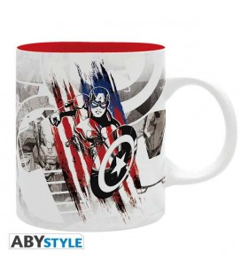 "Tazza Capitan America ""CA Design"" - da 320 ml - Abystyle"