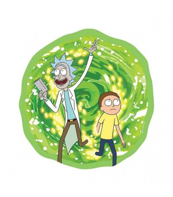 Mousepad Rick e Morty modello Portale