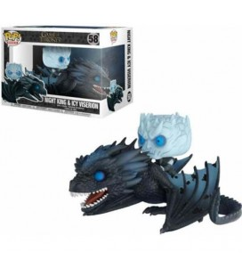 """GAME OF THRONES - POP! """"NIGHT KING & ICY VISERION"""""""