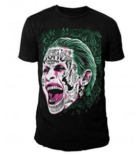 T-Shirt da Suicide Squad: Joker colore Nero tg.XL