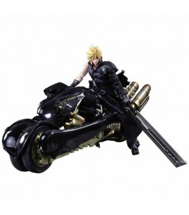 Action Figure Cloud & Fenrir- Final Fantasy VII - Play Arts Kai