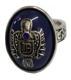 Anello blu del vampiro - misura 17 - Pidak Shop
