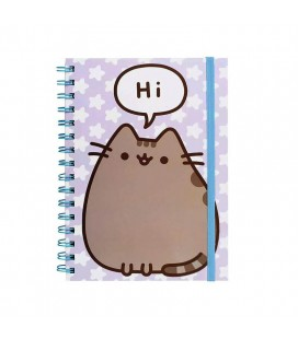 "Quaderno Pusheen Says ""Hi"" - formato A5"