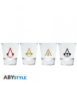 Set 4 Shooters Con Emblemi Di Assassin'S Creed