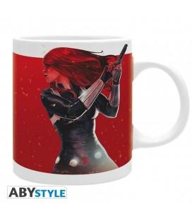 Tazza Black Widow On Fire - 320 Ml - Abystyle