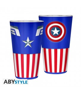 "Bicchiere formato ""XXL"" Capitan America - 400 ml - Marvel"