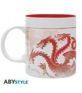 Tazza Targaryen Red Dragons Game Of Thrones - 320 Ml