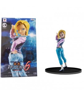 Figure Android C-18 SCultures - Dragonball Z - version B