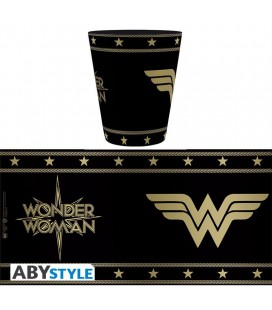 Tazza Wonder Woman Black/Bronze - 250 ml - AbyStyle