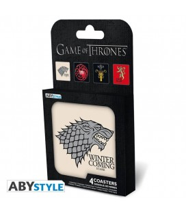 Set Di 4 Sottobicchieri Game Of Thrones - Abystyle