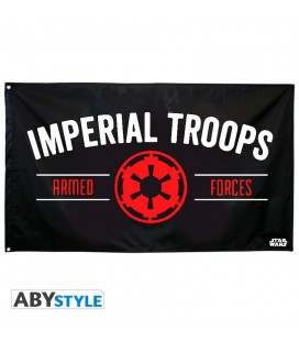 "Bandiera Star Wars - Empire ""Imperial troops"" (70x120)"