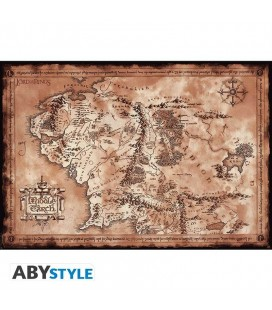 "Poster - The lord of the rings ""Map"" - 91 x 61 cm"