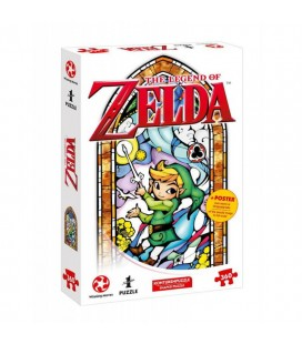 "Puzzle The Legend of Zelda - Nintendo official - Link ""The Wind Waker"" version"