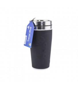 Tazza da viaggio nera Playstation Acciaio Inox - da 415 ml