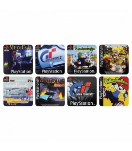 "PLAY STATION - SOTTOBICCHIERI/COASTERS ""GAME LOGO"""