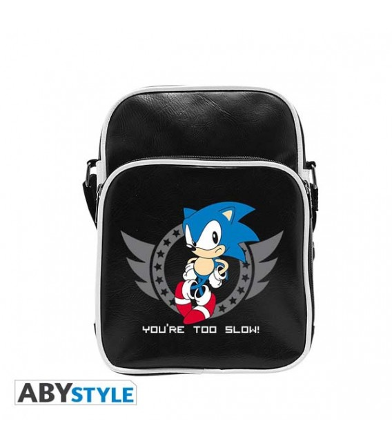 """SONIC - TRACOLLA/SHOULDERBAG - """"YOU ARE TOO SLOW"""""""