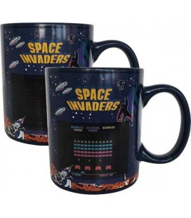 Space Invaders - Mug Heat Change/Tazza Termica Space Invaders 300Ml