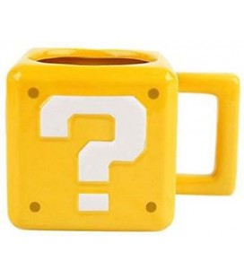"SUPER MARIO - MUG/TAZZA ""QUESTION BLOCK"""