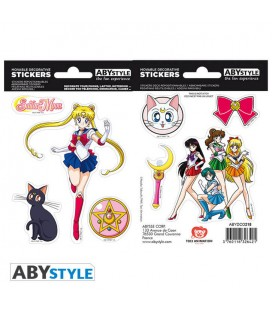 Set di Stickers Sailor Moon - 2 fogli da 16x11 cm