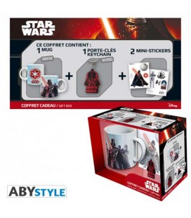 "STAR WARS - GIFT BOX - MUG/TAZZA 320ML + KEYRING/PORTACHIAVI + STICKER ""DARTH VADER"""