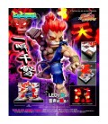 Street Fighter II - Diorama - Action Figures - Big Boys Toys - WIth sounds and lights - Luci e suoni - PVC - Akuma
