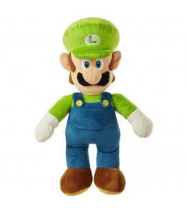 "Peluche di Luigi da Super Mario Bros ""World of Nintendo"" - vers. 50 cm"