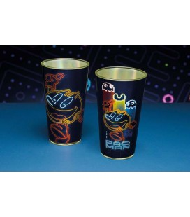 PAC MAN - CHARACTER PINT GLASS / BICCHIERE - 400 ML 14 OZ - 9X9X15 CM
