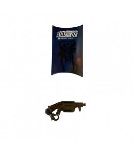 Ciondolo metallico per chiavi City Hunter Private Eyes - Special limited edition - Pistola
