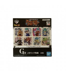 "Card Collection Dragonball ""Extreme Sayan"" Limited Edition - 8 disegni su scheda rigida"