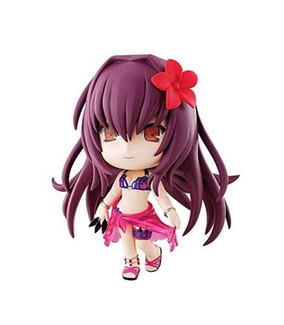 """FATE GRAND ORDER - ACTION FIGURE """"CHIBI KYUN CHAN ASSASSIN/SCATHACH"""" - 10 CM FUGYRE"""