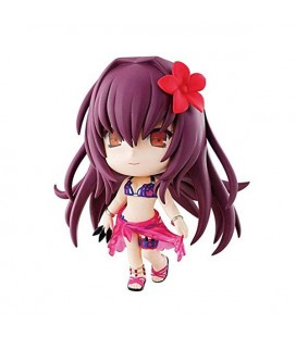 "FATE GRAND ORDER - ACTION FIGURE ""CHIBI KYUN CHAN ASSASSIN/SCATHACH"" - 10 CM FUGYRE"