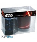 "STAR WARS - GIFT BOX - MUG/TAZZA - KINGSIZE 460ML + T-SHIRT (X-LARGE SIZE) ""DARK SIDE"""