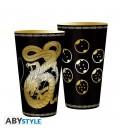 """Bicchiere formato """"XXL"""" Shenron di Dragonball - Nero/Oro - 400 ml - AbyStyle"""
