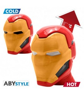 "MARVEL - 3D MUG HEAT CHANGE/ TAZZA TERMICA 3D ""IRON MAN"""