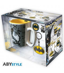 Gift Box Batman - DC Comics - include tazza, badge e portachiavi